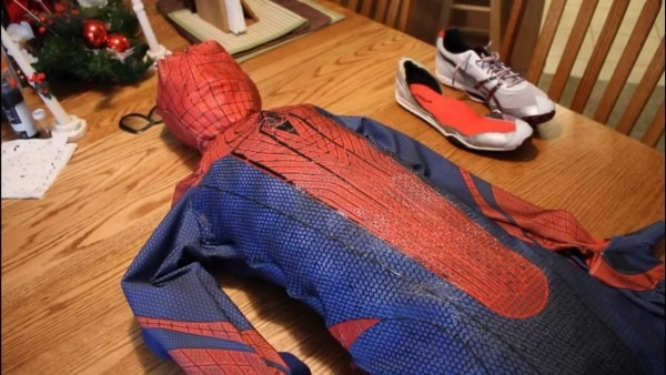 The Amazing Spiderman Suit Progress