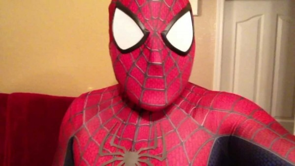 My Spiderman Replica Suit   Costume Is Amazing!! (spidey4fun
