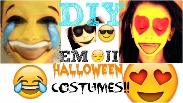 Diy Emoji Halloween Costumes!