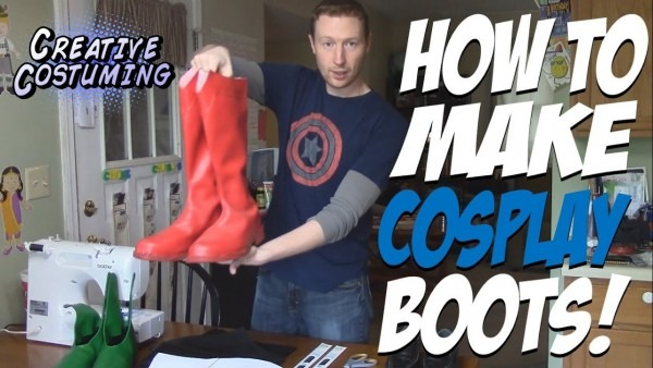 How To Make Superhero Cosplay Boots