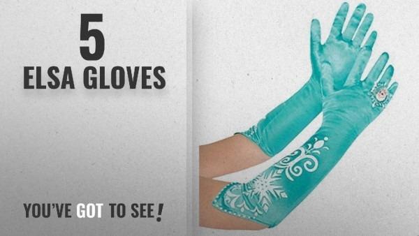 Top 10 Elsa Gloves [2018]  Disney Frozen Long Elsa Costume Gloves