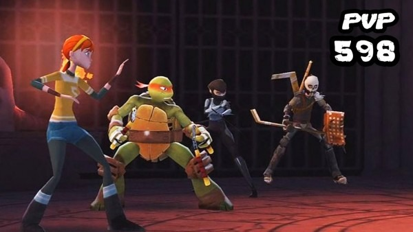 Tmnt Legends Pvp 598 (april O'neil, Mikey, Casey Jones, Karai