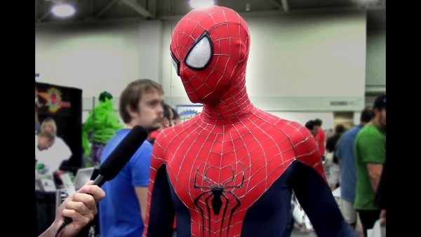 Amazing Spider Man Costume At Salt Lake Comic Con