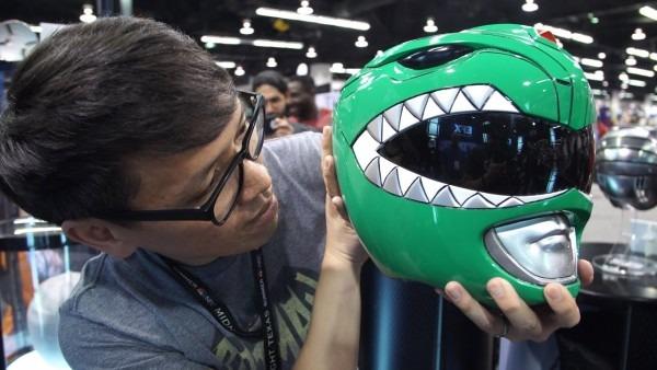 Original Power Rangers Helmet Prop!