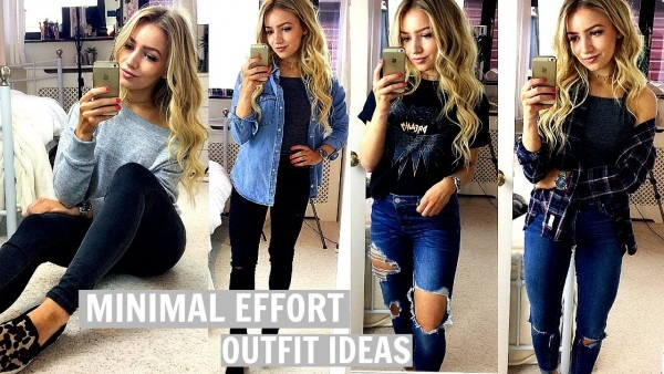Last Minute Outfit Ideas   No Effort Outfits For School & College