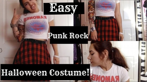 Easy Punk Rock Halloween Costume!