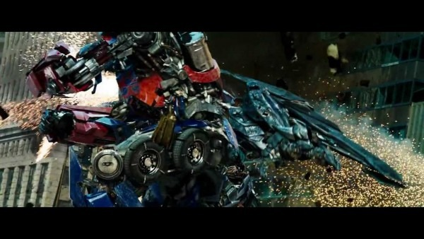 Transformers 3 Fight Scene