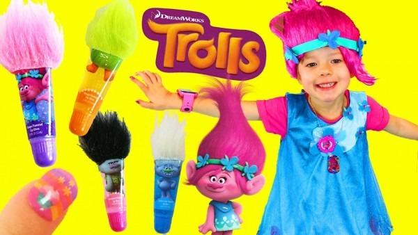 Trolls Poppy Costume Dress