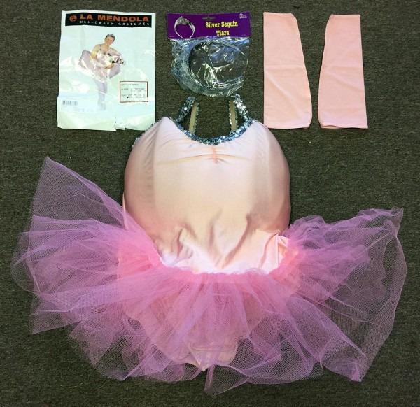 Men's Ballerina Ballet Adult Halloween Costume Tutu 8947