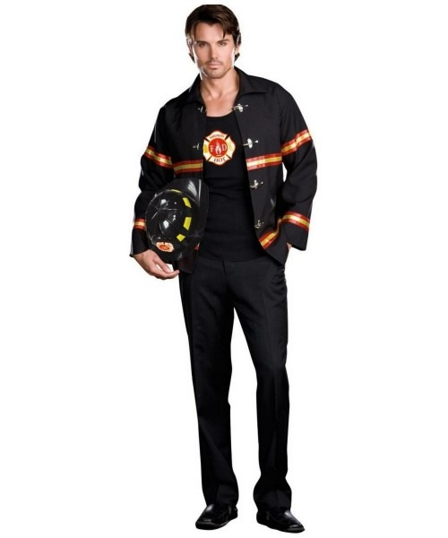 Smoking Hot Fire Department Male Costume
