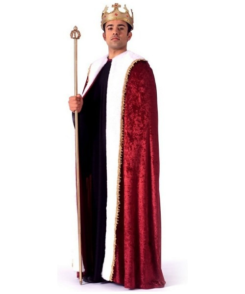 Adult King Robe Halloween Costume