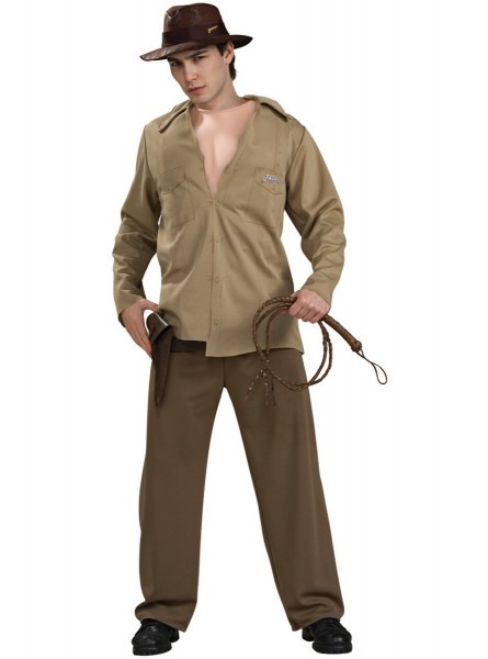 Mens Muscular Indiana Jones Costume  The Coolest