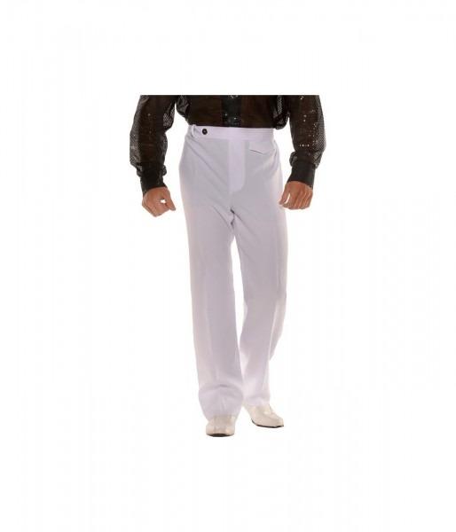 White Disco Pants Mens Costume