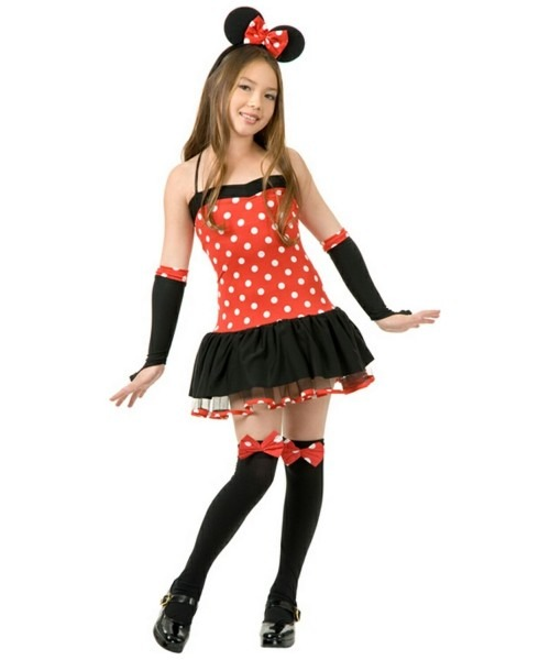 Miss Mouse Girl Halloween Costume
