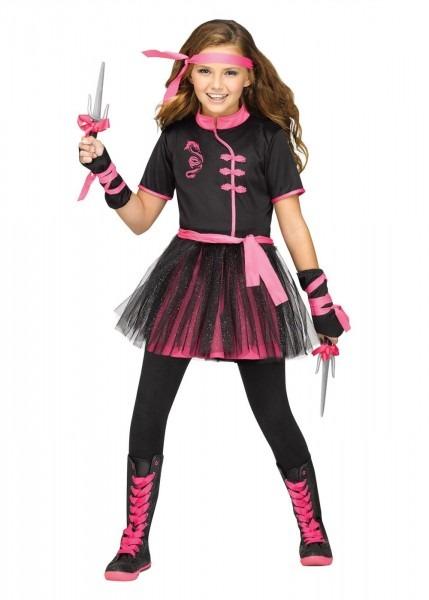 Miss Ninja Girls Costume