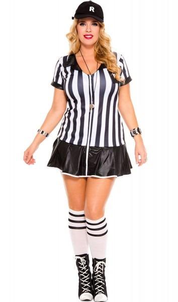 Plus Size Sexy Umpire Costume