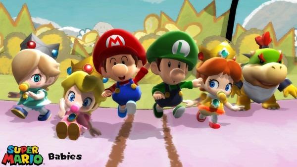 Mmd Model) Super Mario Babies Download By Sab64 On Deviantart