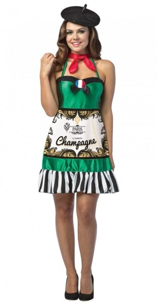 Champagne Dress Women's Costume