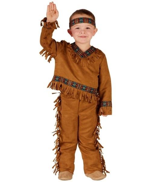 Native American Indian Kids Costume