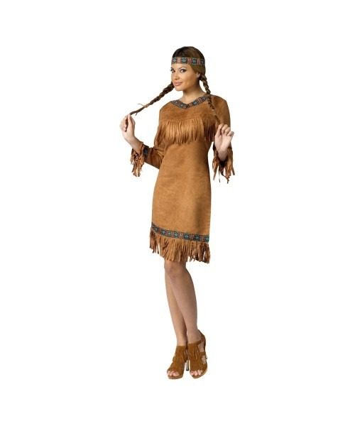 Native American Female Indian Adult Costume