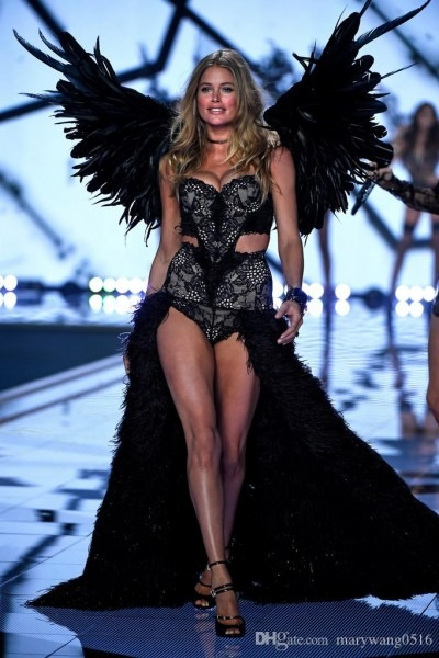 New Arrival Black Angel Feather Wings Costume Show Party Wedding