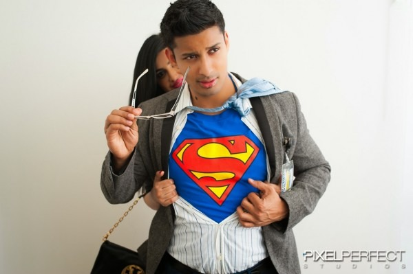 Gagan Buttar   Halloween Couple Costume Ideas  Superman And