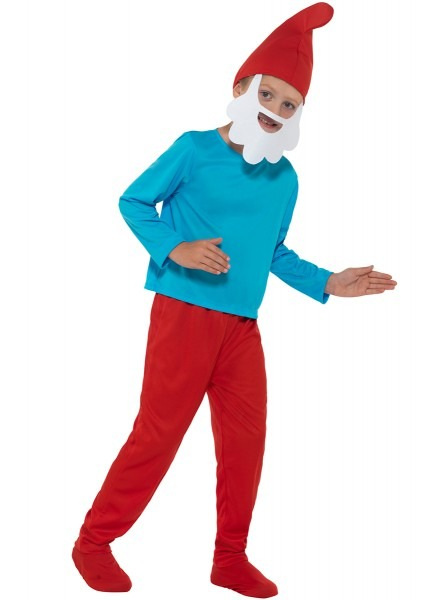Papa Smurf Costume For A Child  The Coolest