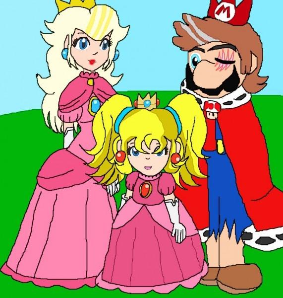 Peach Jr  And Royal Family By Elzathehedgehog On Deviantart