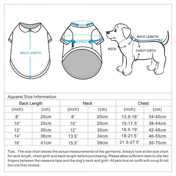 Buy Garden Flower Peter Pan Collar Dog Tshirt Dog Clothes Online