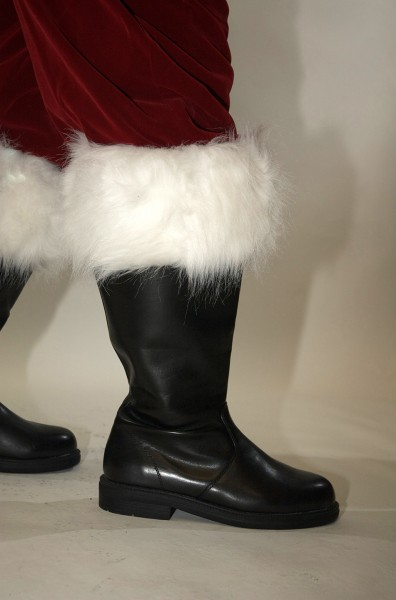 Planetsanta Professional Wide Top Santa Claus Boot Made From