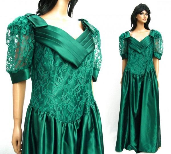 Plus Size 80s Dress