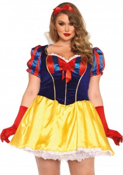 Plus Size Poison Apple Snow White Halloween Costume