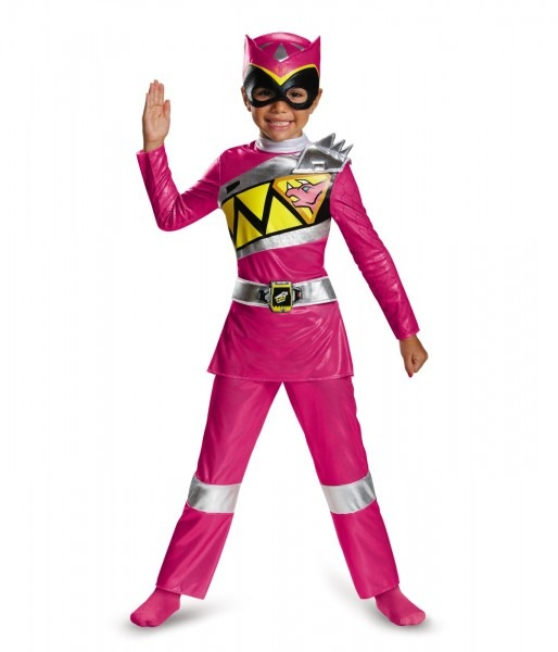 Pink Power Ranger Dino Charge Toddler Costume