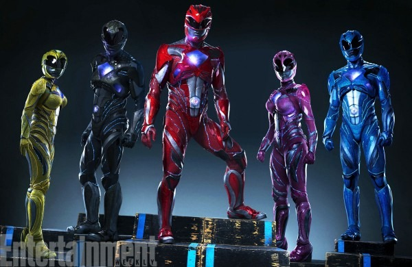 Check Out The New Power Rangers Costumes