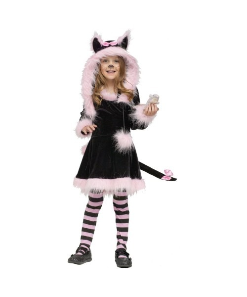 Pretty Kitty Girl Costume