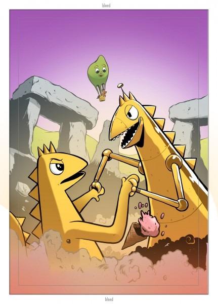 Michael Aushenker's Cartoon Flophouse  October 2010