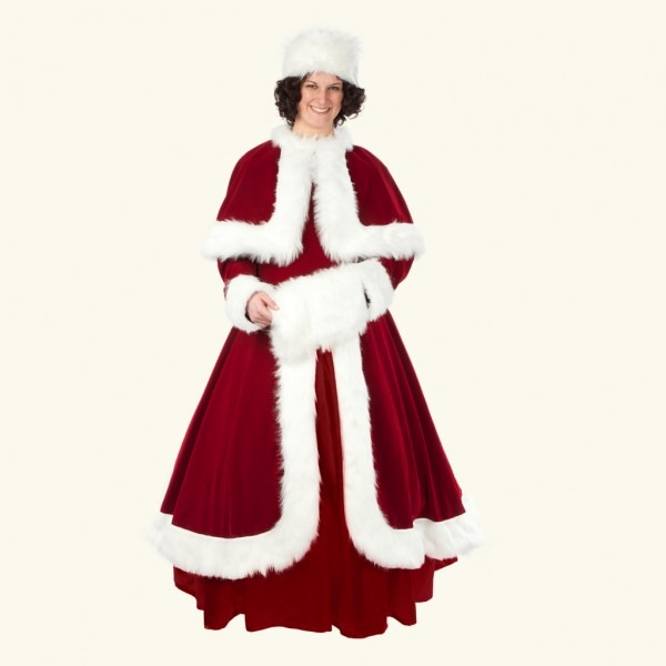 Halco) Belle Of The Christmas Ball Mrs  Claus Costume – Santa & Co