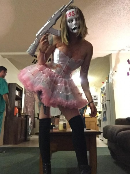 Candy Girl From The Purge, Election Year   Halloween