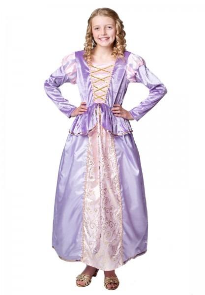 Rapunzel Tangled Inspired Dress For Tweens