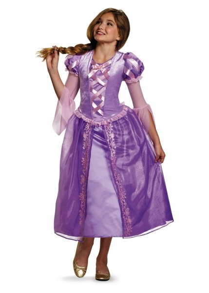 Rapunzel Girls Teen Costume