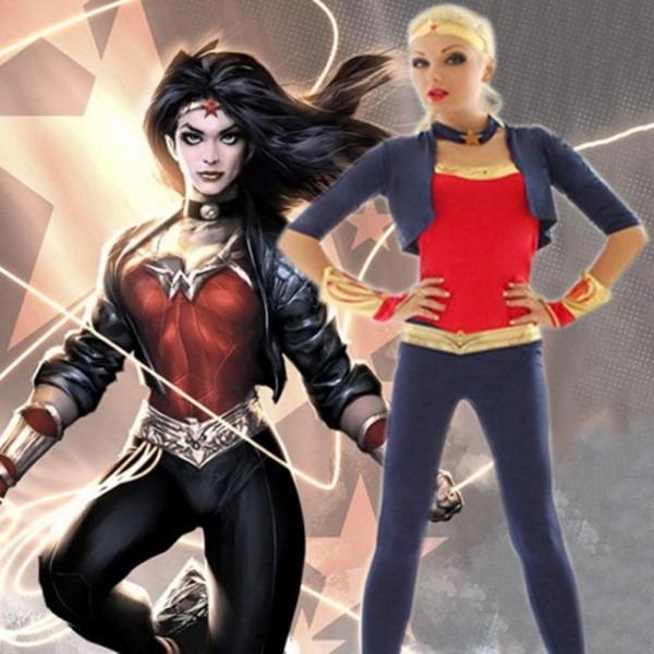 Batman Vs Superman Wonder Woman Costume Diana Prince Cosplay Dc