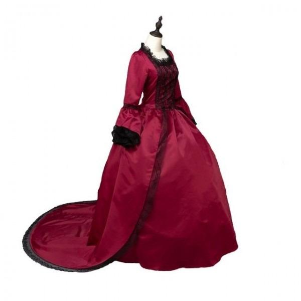 Aliexpress Com   Buy Red Marie Antoinette Renaissance Dresses Ball