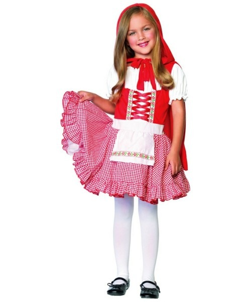 Lil Miss Red Riding Hood Kids Movie Costume