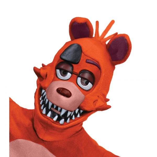 Adult Foxy The Pirate Fox 3 4 Costume Mask 82686334372