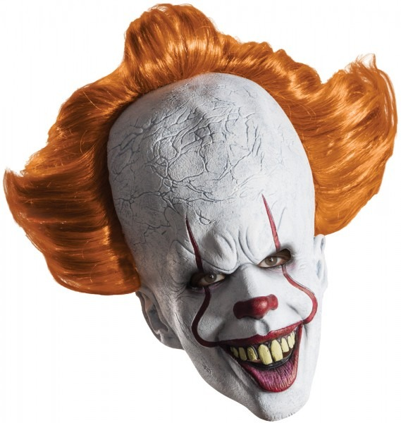 Adult Males It Pennywise Full Over The Head Mask Halloween Costume