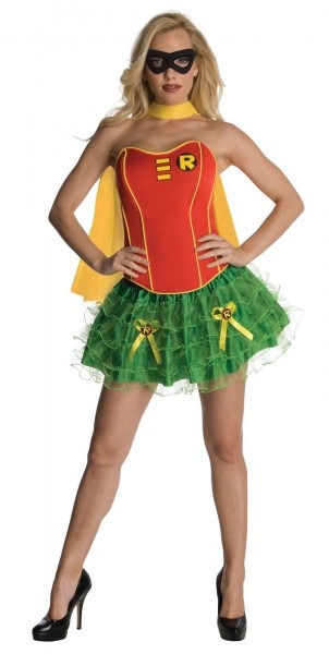 Adult Robin Justice League Woman Costume
