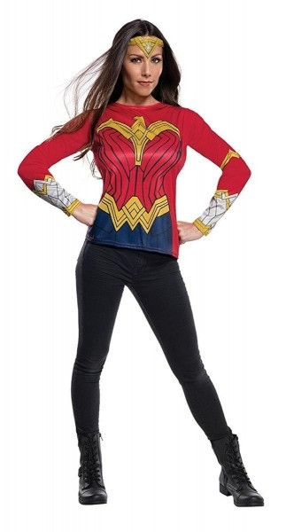 Justice League Movie Wonder Woman Adult Costume Top
