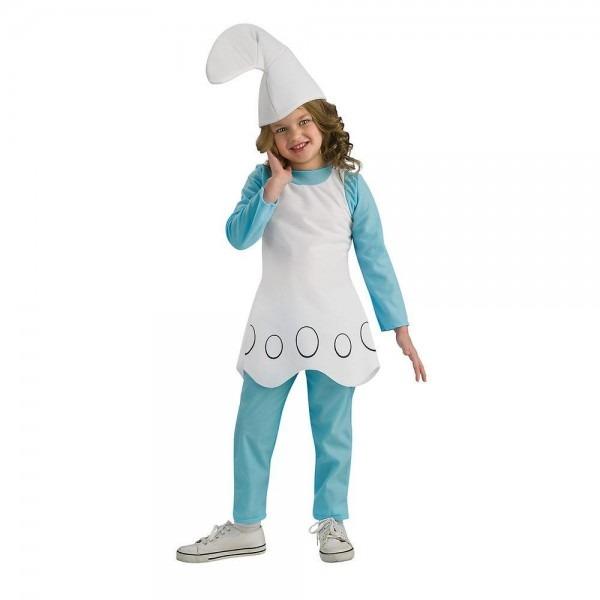 Rubie's Costumes Girls Smurfette Costume