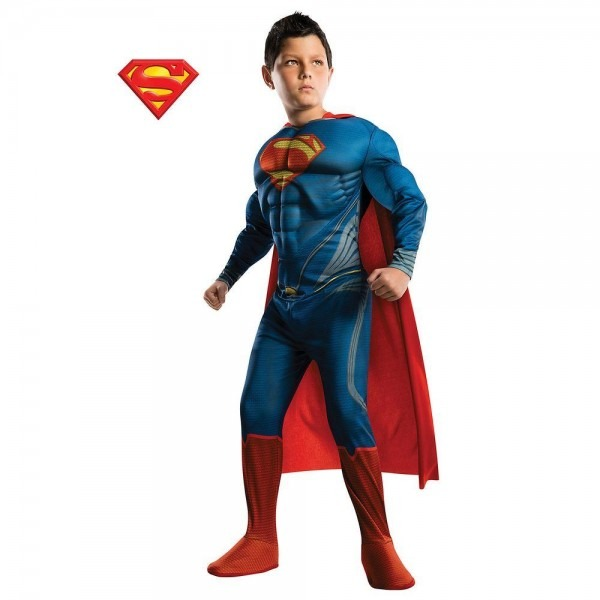 Rubie's Costumes Boys Deluxe Superman Costume
