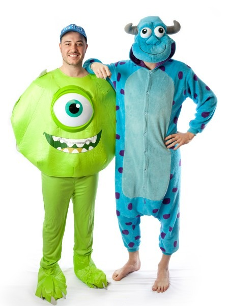 Mike And Sulley Couple Costume